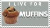 Muffins Stamp by Tsubaroo