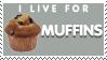 Muffins Stamp by Tsubaroo