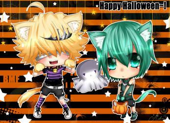 KHR: Happy Halloween by Abhie008
