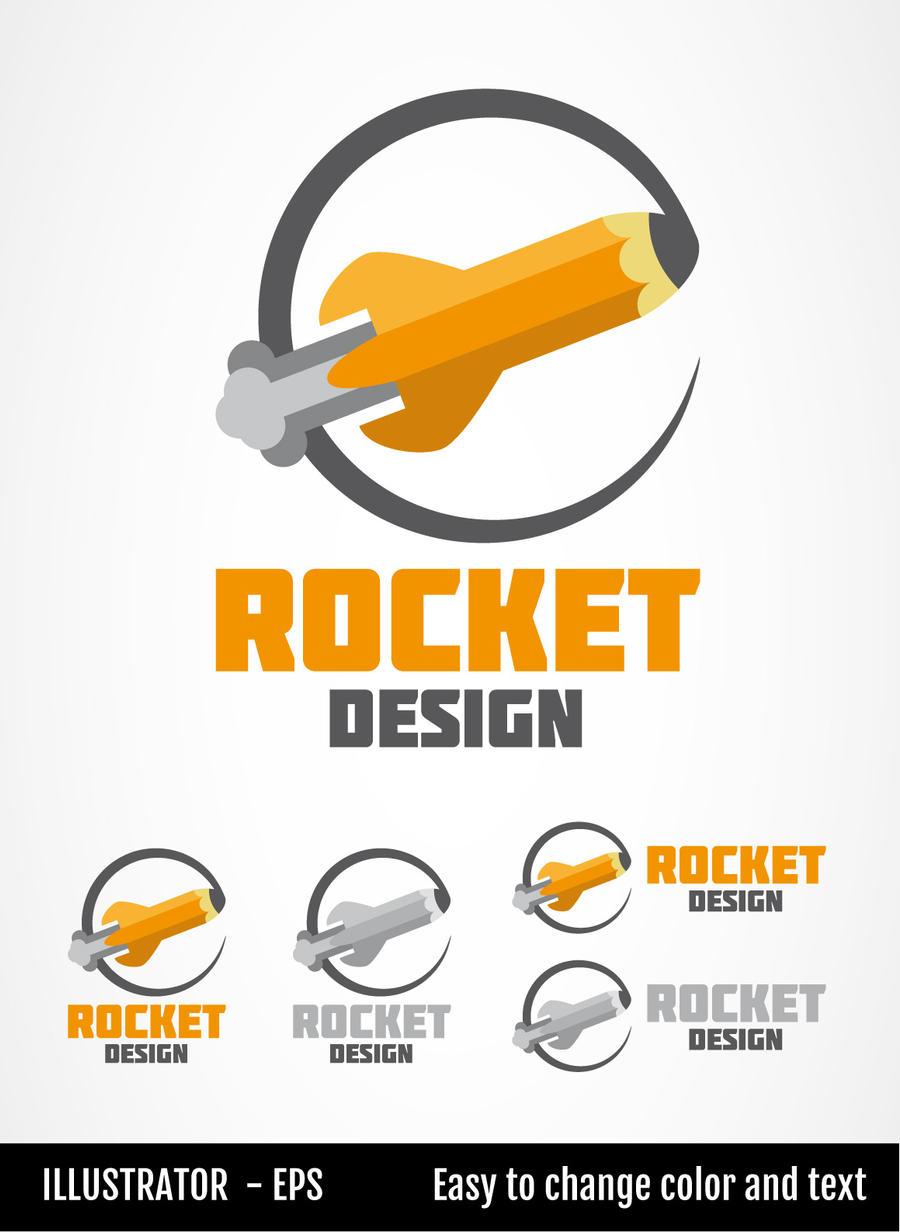 Rocket Design  - Logo Template