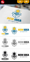 New Idea - Logo Template by doghead