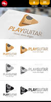 Play Guitar - Logo Template