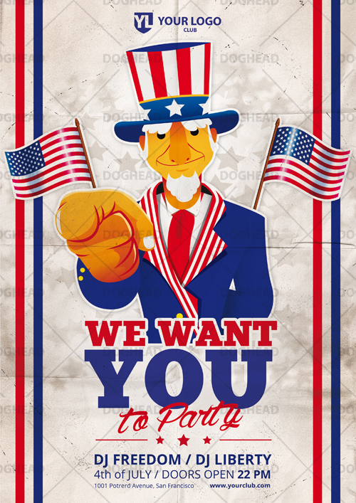 We want you to party by doghead