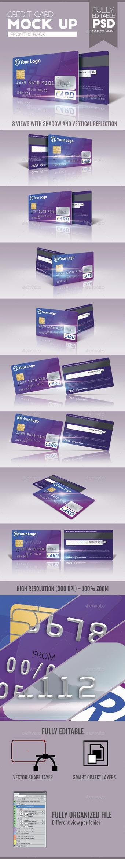 Credit Card Mock Up v2 by doghead