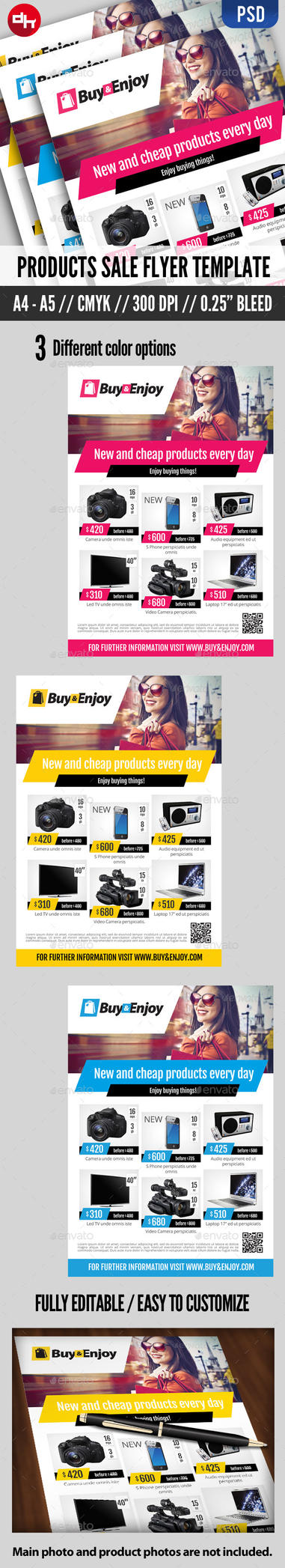 Product Sale - Flyer Template by doghead