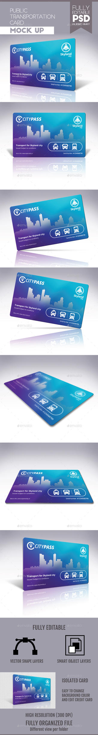 Public Transportation Card by doghead