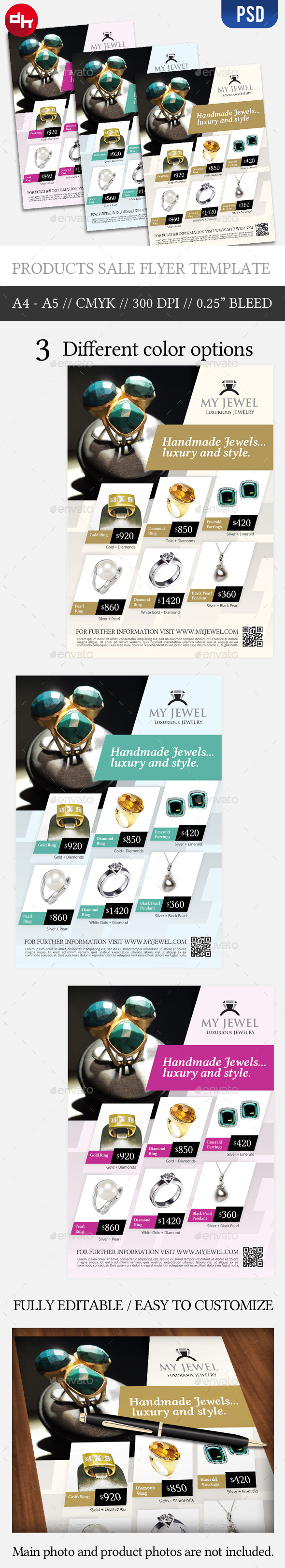 Jewel Sale - Flyer Template by doghead