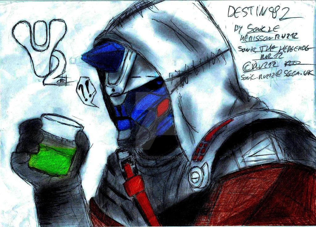 Destiny 2 - Cayde 6 by SONICleherissonrv212 on DeviantArt