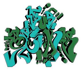 Substans Graffiti Shirt Design