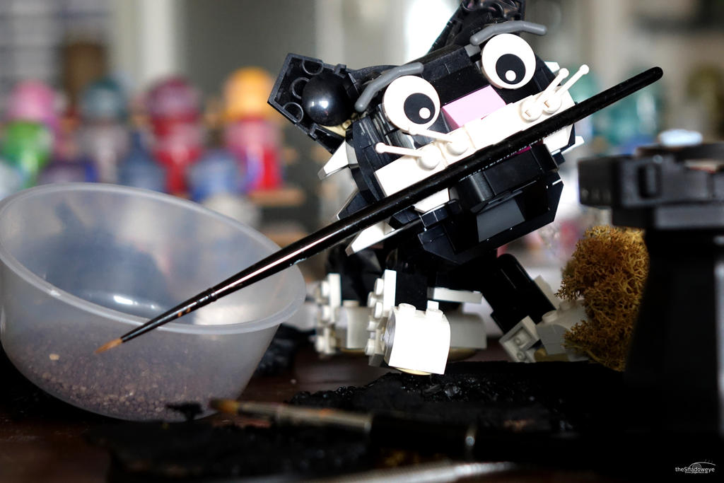 Caturday Lego by DianaShadoweye