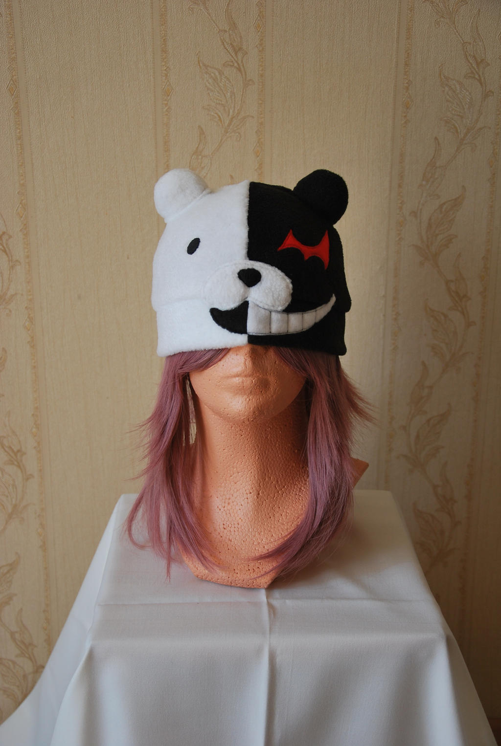 Monokuma Hat by miya05