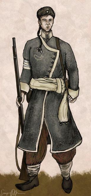 Grey Banner Line Infantry