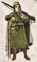 Green Banner General Officer