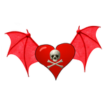 Winged Heart PNG