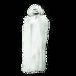 Skeleton PNG White Blur Stock