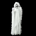 Skeleton PNG Zoom Blur White Stock