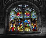 Castle Window Stock Daguerreotype