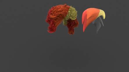 new realistic pony hair