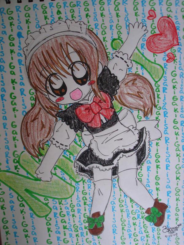 chibi gaki-san by kawaii-beam