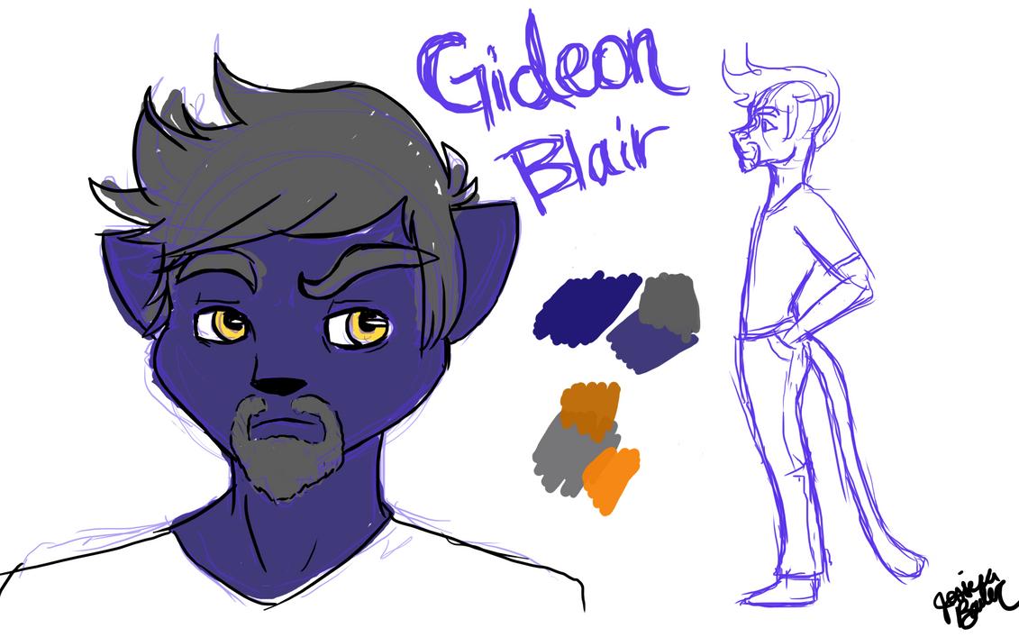 Gideon Blair by babybluedreams
