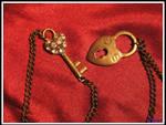 Heart Key and Lock