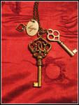 Hope Charm Keys