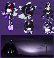 The Great Darkness (Sonic AU Design) by Ora-Allagis
