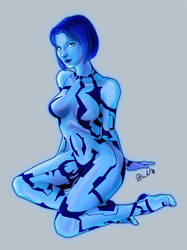 Cortana by gallyko