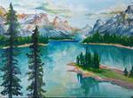 Photo Study: Lake and Trees