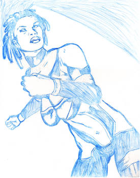Amazula2011 Blue Sketch