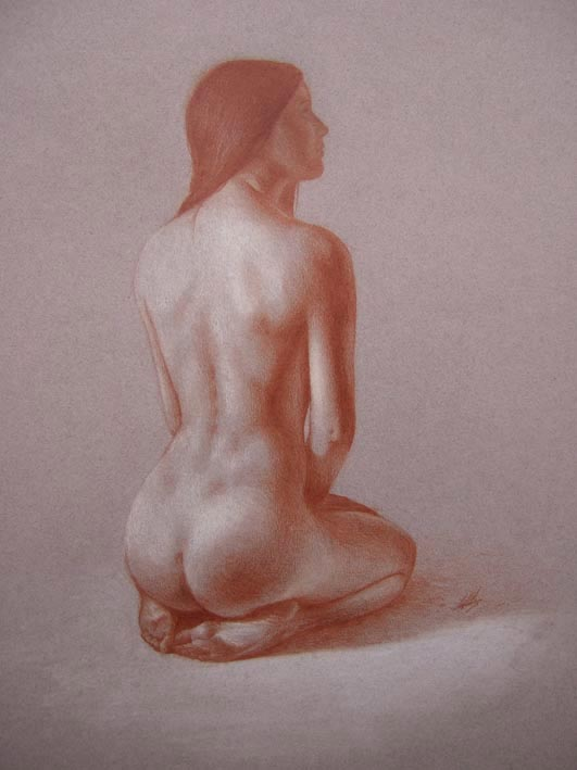 Nude Study by ddmizen