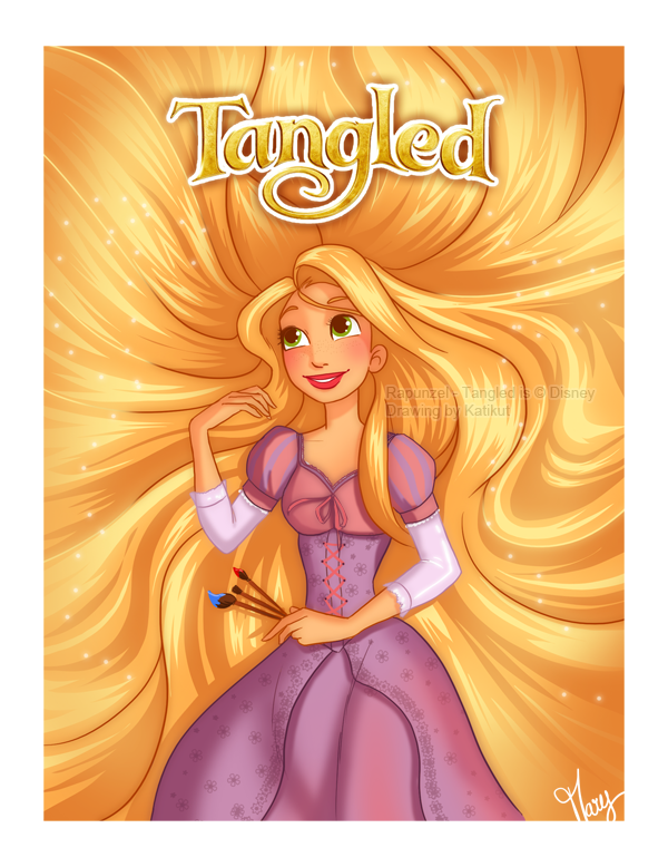 Tangled - Admiring my Ceiling by Katikut