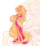 Rapunzel Art Nouveau