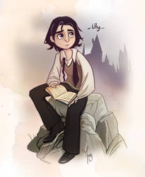 Young Snape by Katikut