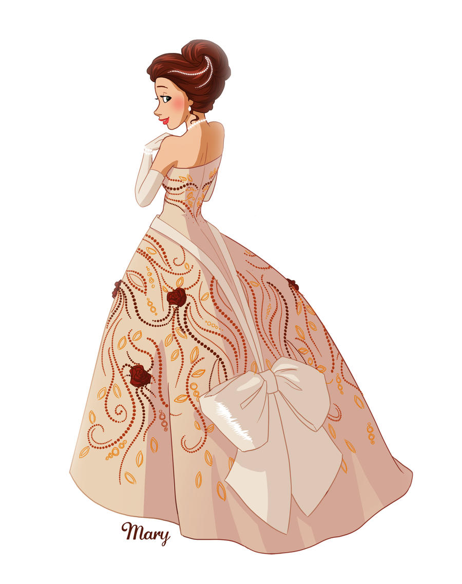 The Queen's Dress by Katikut