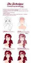 Step by Step - Melly Portrait
