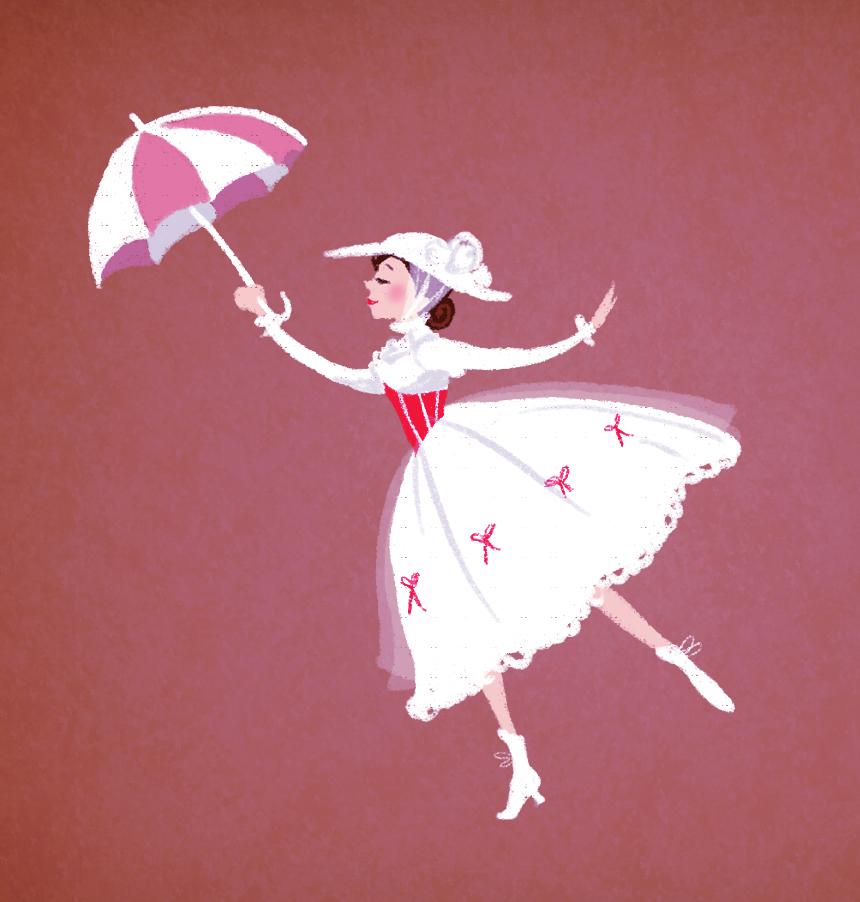 Mary Poppins by Katikut