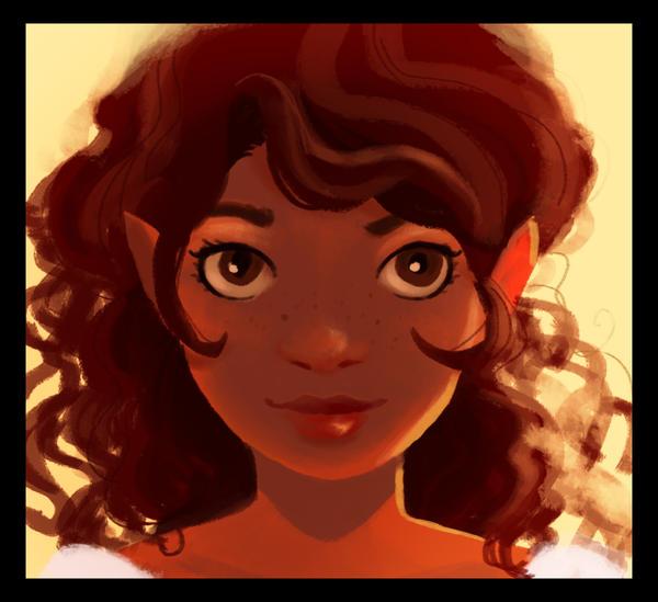 A Hobbit Girl by Katikut
