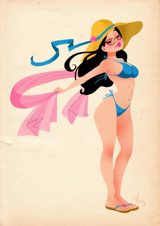 Bikini Girl by Katikut