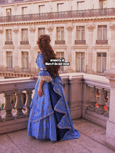 My Christine Daae Dress @ the Opera Garnier by Katikut