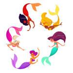 Mermaid rainbow