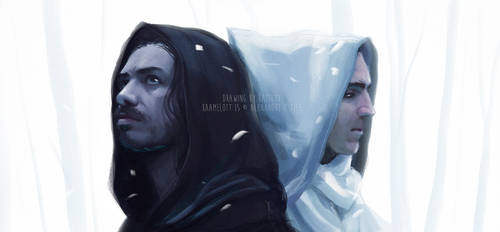 Arthur and Lancelot - Kaamelott by Katikut