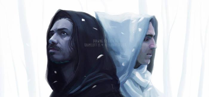 Arthur and Lancelot - Kaamelott