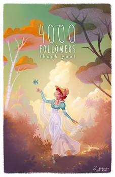 Celebrating my 4000 followers on FB!