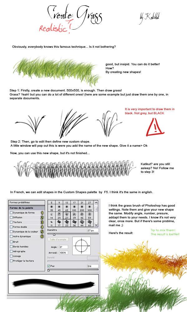 Tutorial - Grass by Katikut