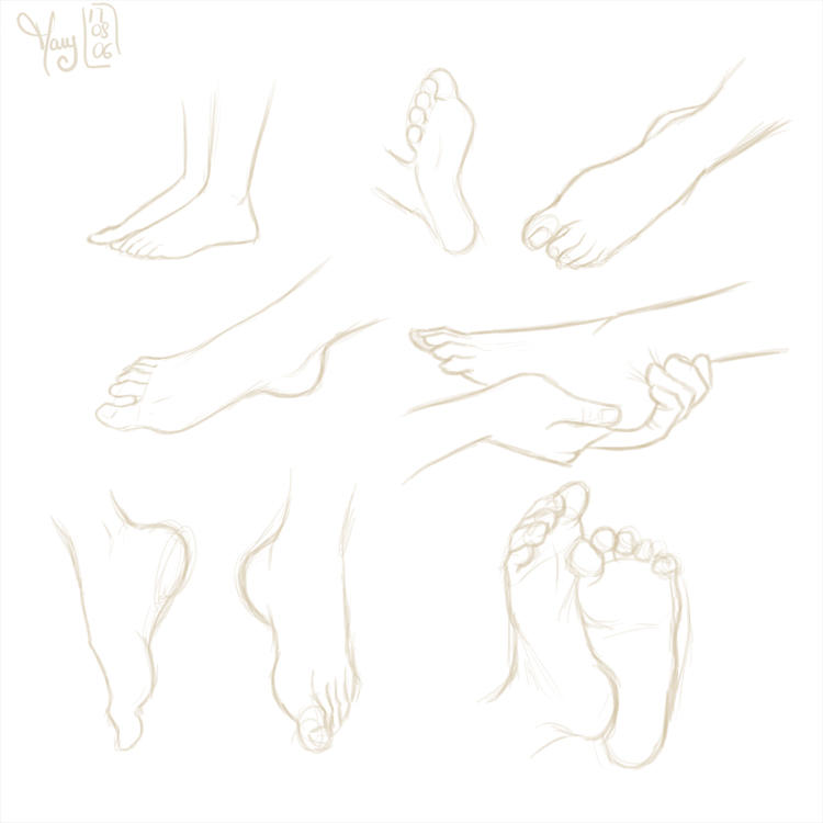 Feet by Katikut