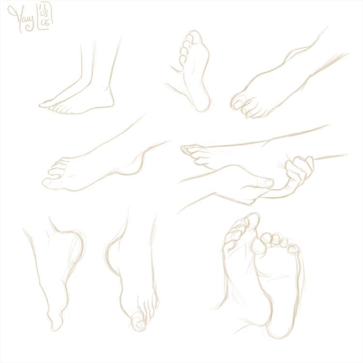 Feet by Katikut