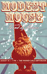 Modest Mouse gig poster