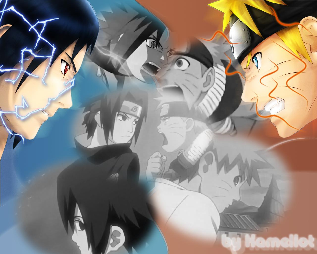 Download Wallpaper Naruto Friend - naruto_sasuke_friend_and_enemy_by_k_a_m_e_l_l_o_t  Best Photo Reference_798941.jpg