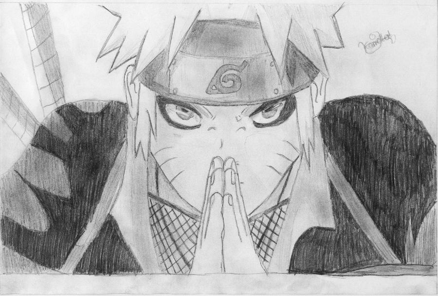 Naruto Sage Mode by Naruto Uzumaki Sage Mode Drawing